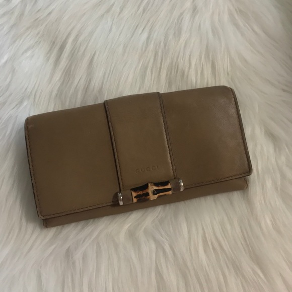 f230bbb55fc Gucci Accessories - Gucci Bamboo Wallet